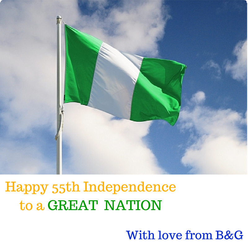 Happy 55th Independence Nigeria