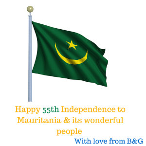 Happy Independence Mauritania