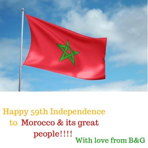 Happy Independence Morocco