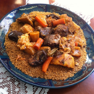 thieboudienne meal (Mauritania)